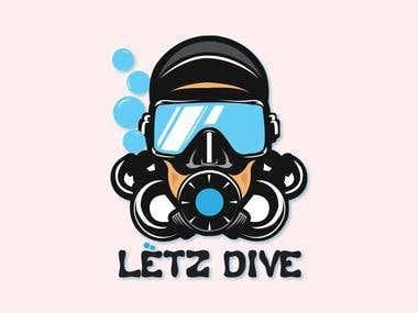 Scuba Diving Logo for contest