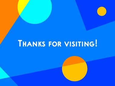 Thanks For Visiting