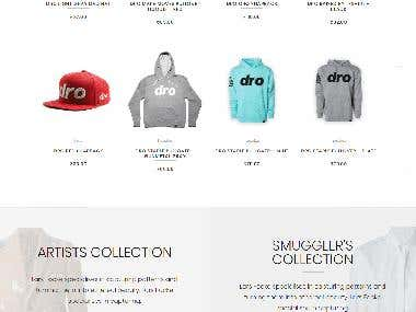 Wordpress shopping site (woocommerce)