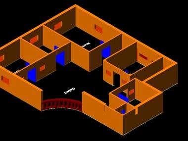 Autocad floor plans.