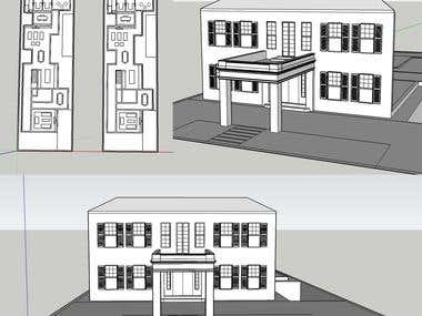 Google Sketch Up Model