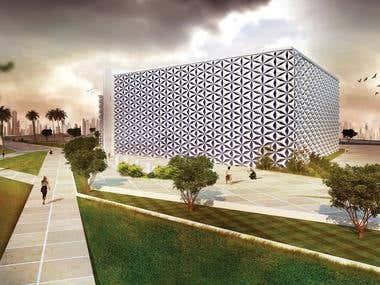 Architectural design, Cultural center