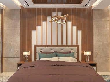 Interior design for master bedroom