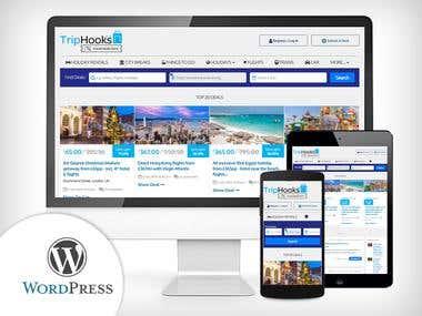 WordPress - Travel Deals Website