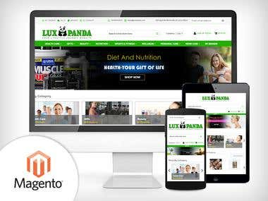 Magento - ecommerce website (selling health,beauty products)