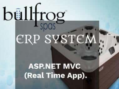 ERP system of BullfrogSpa --- ASP.NET