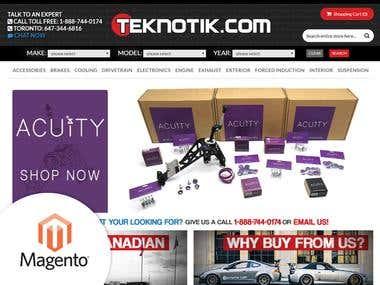 Magento - Buy Auto Parts Online