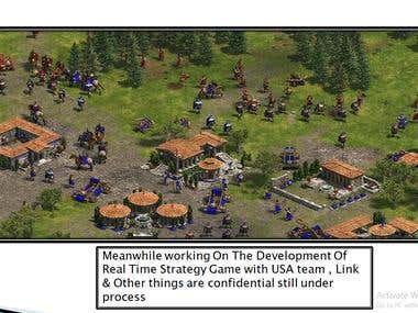 RTS Game Unity Project Under development