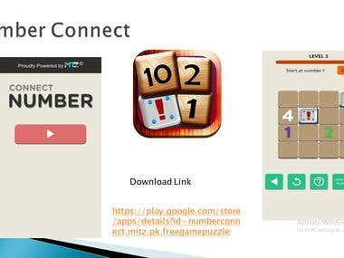 number connect Puzzle game
