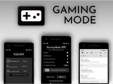 Gaming Mode with GFX Tool