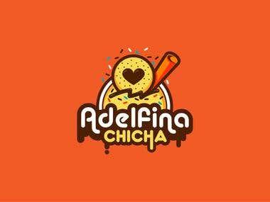 Logo Adelfina Chicha / Refreshment