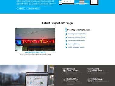 Developed a Website