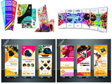 I Will Create Any Sized Eye Catching Banner and Brochure