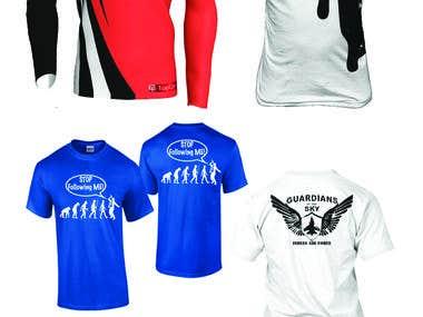 Create Eye Catchy T Shirt Design