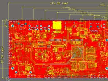 PCB Layout For POS