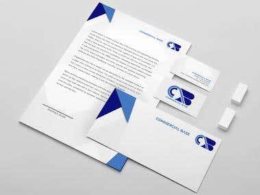 Commercial Base ( Brand logo design)