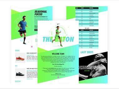 Nike The Baton Campaign - South East Asia