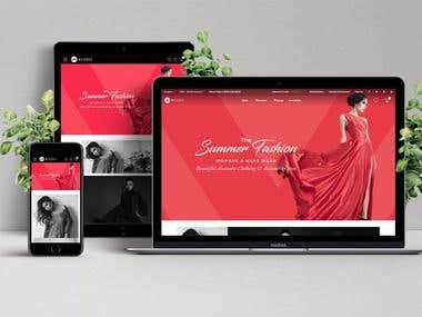Magento Fashion eCommerce Portal
