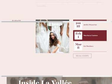La Vallée Bridal Couture Wedding Dresses in Vail Colorado