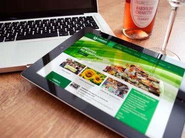 Sitio web Cooperativa financiera
