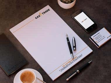 Design and visualization of corporate identity