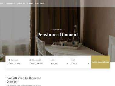 Hotel web site