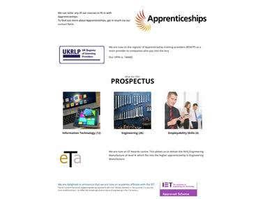 Semesterlearning (WordPress Website)