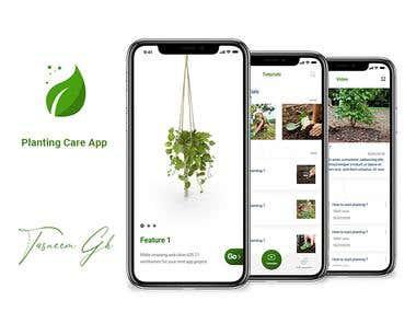 plants care app (UX/UI)