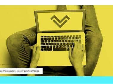 HTML Website for Software Company MyVoga