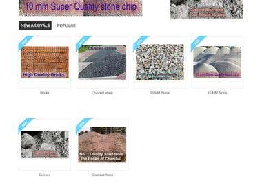 Wordpress Website for Building Material Supplier