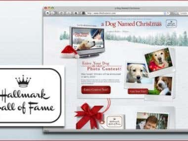 Contest Site for Hallmark