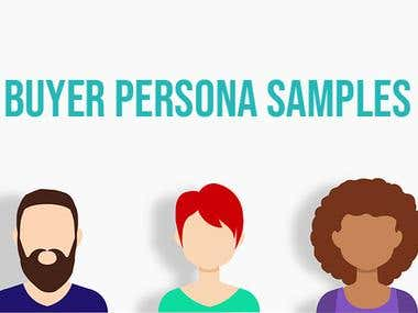 Sample Buyer Personas