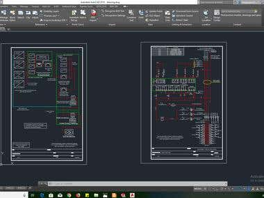 ELECTRONIC DRAWING WITH AUTOCAD