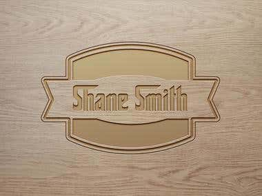 Personal Wood Engraved Logo