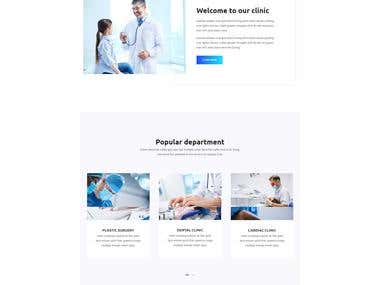ASP.NET core MVC | Hospital Website