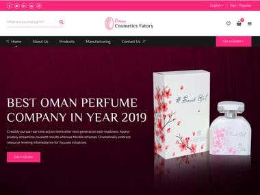 Oman Cosmetic Factory Official Website