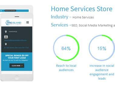 Home Services Store (38% increase in brand shares online)
