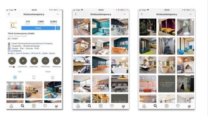 Social Media Marketing Interior Design Company Freelancer