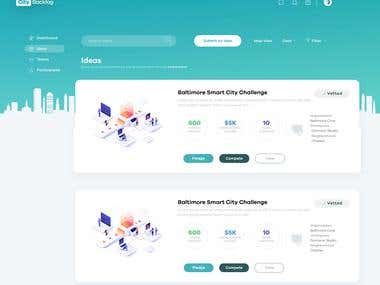 City Backlog - Bootstrap Template