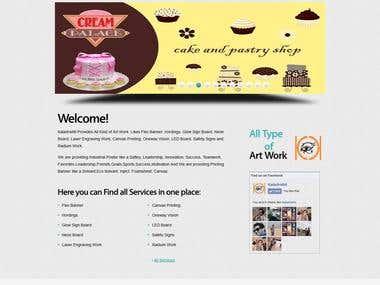 Working on Under development website of Kaladrishti