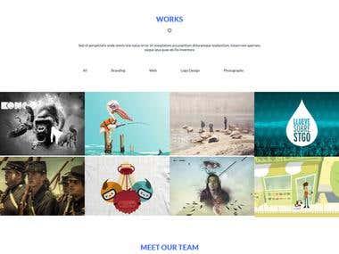 app landing website