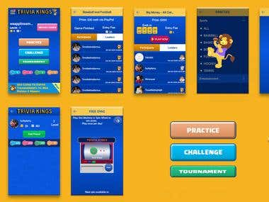 TriviaKings - A quize app