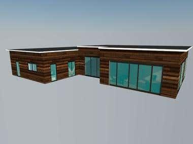 Villa 3D Modeling