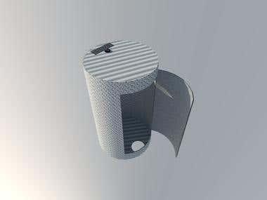 Vessel 3D model