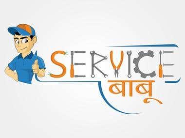 Service babu (Logo design)