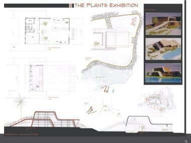 DESIGN OF EXHIBITION CENTRE FOR PLANTS