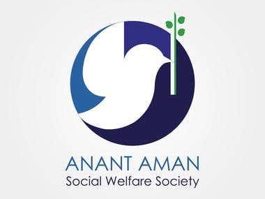 Anant aman (logo design)
