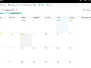 Office 365 With Sharepoint- Online Meeting Planner