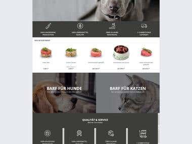 BARFIT Food Website