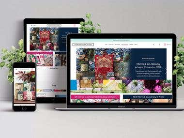 Magento eCommerce Lifestyle Website